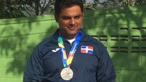 Julio Dujarric obtuvo medalla de plata.