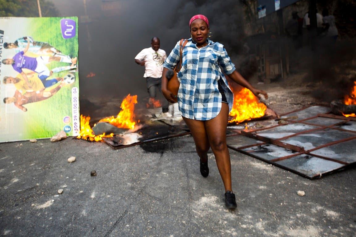 16. Las protestas contra el aumento en los combustibles se extendieron por todo el país.