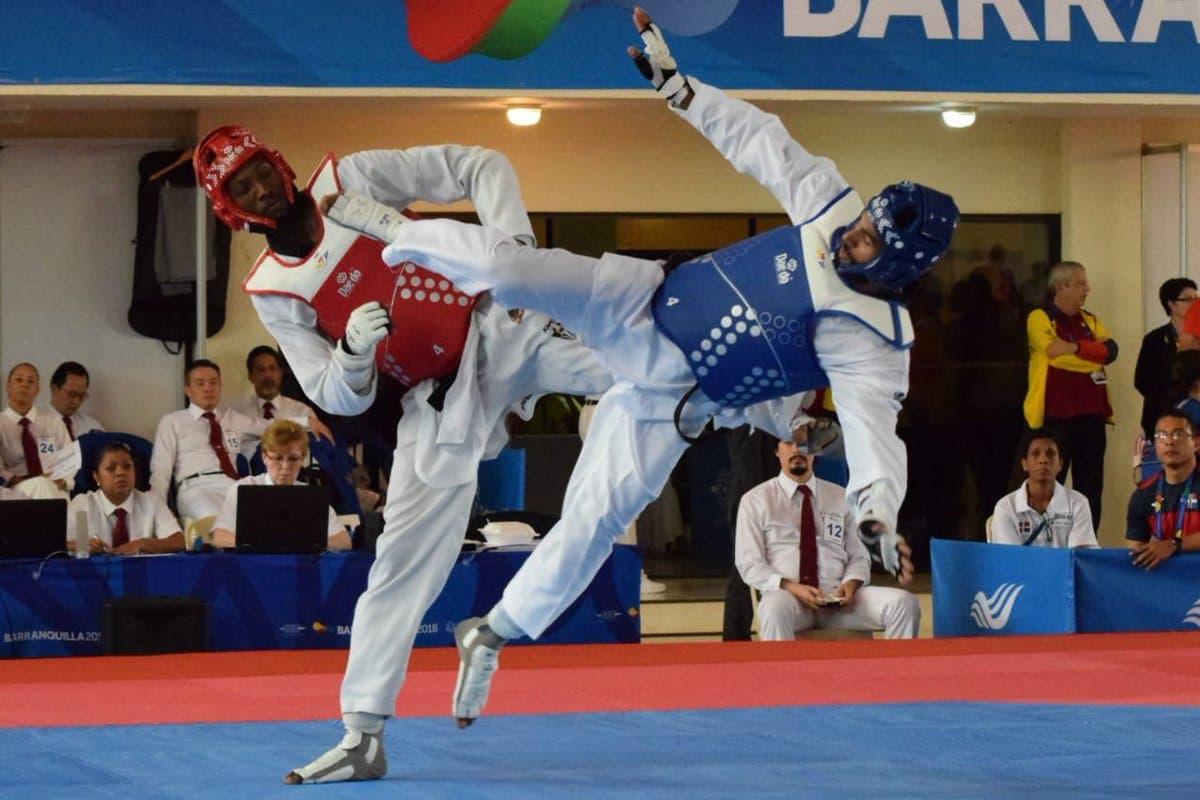 17. Moisés Hernández obtiene medalla de oro en la disciplina de taekwondo masculino, en 80 kg, en estos XXIII Juegos Centroamericanos y del Caribe