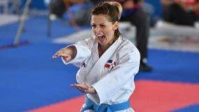 María Dimitrova, de la disciplina de karate, obtiene medalla de oro en la modalidad kata.