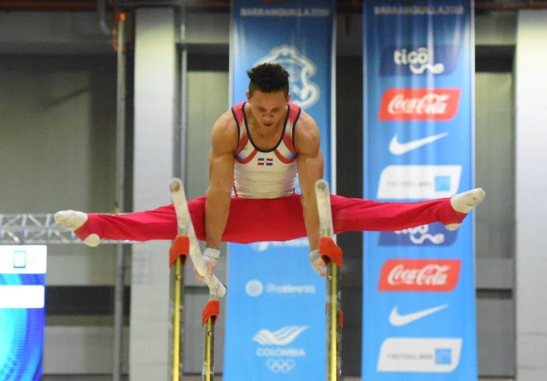 9. Audrys Nin Reyes  obtiene medalla de oro en la disciplina de gimnasia, modalidad de salto.