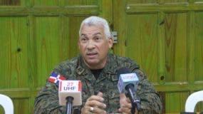 General Manuel Lachapelle,  jefe de la Policía Municipal del Ayuntamiento del Distrito Nacional