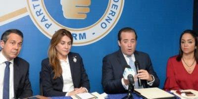 La Dirección Ejecutiva del PRM adoptó la decisión en su reunión ordinaria.