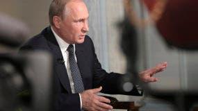 """""""El presidente ruso expresó su respaldo al gobierno legítimo de Venezuela en el marco del agravamiento de la crisis política provocada desde el exterior"""", informó el Kremlin en un comunicado."""