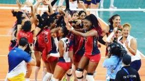 ARCHIVO. Las Reinas Del Caribe logran la medalla de oro, tras vencer 3-0 a Colombia en la final de los Juegos Centroamericanos y del Caribe.