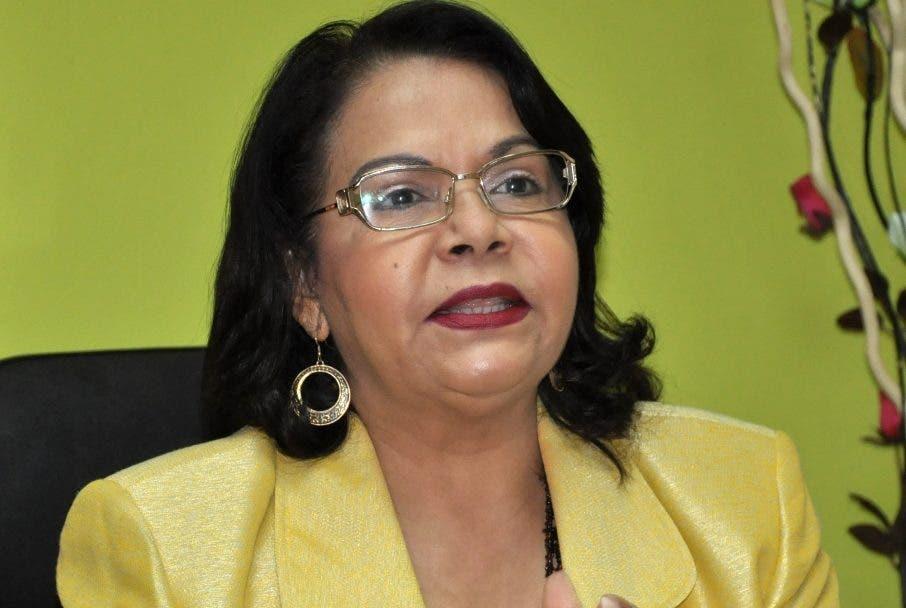 Emma Polanco,  rectora de la UASD.
