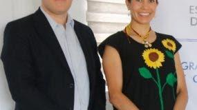 Alfred Woeger y Jessica López Mejía.