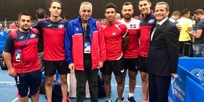 El equipo masculino de República Dominicana  venció 3-0 al de El Salvador.