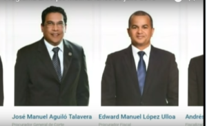 Ambos son miembros del Consejo Superior del Ministerio Público.