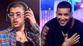Los puertorriqueños Bad Bunny y Daddy Yankee son dos de los máximos exponentes del trap latino y el reggaetón, respectivamente.