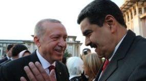 Maduro viajó a Turquía en julio para asistir a la toma de poder del presidente turco.