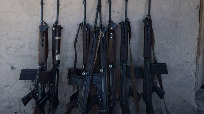 Los fusiles FN FAL son ampliamente utilizados en el mundo. Más de 40 de este tipo de armas fueron sustraídas de un arsenal policial en Paraguay.