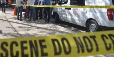 Cadáveres fueron enviados al hospital de Villa Altagracia.