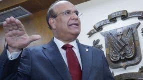Julio César Castaños Guzmá, presidente de la JCE. ELIESER TAPIA