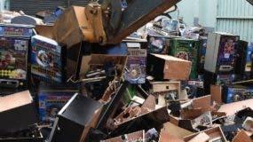 Parte de equipos destruidos por Hacienda.  Fuente externa