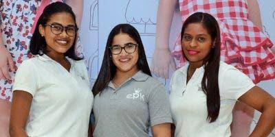 Isabel Cordero, Jennifer Díaz y Johanna Heredia.