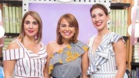 Elisabet Barceló, Maitté Abreu y Laura Betances.