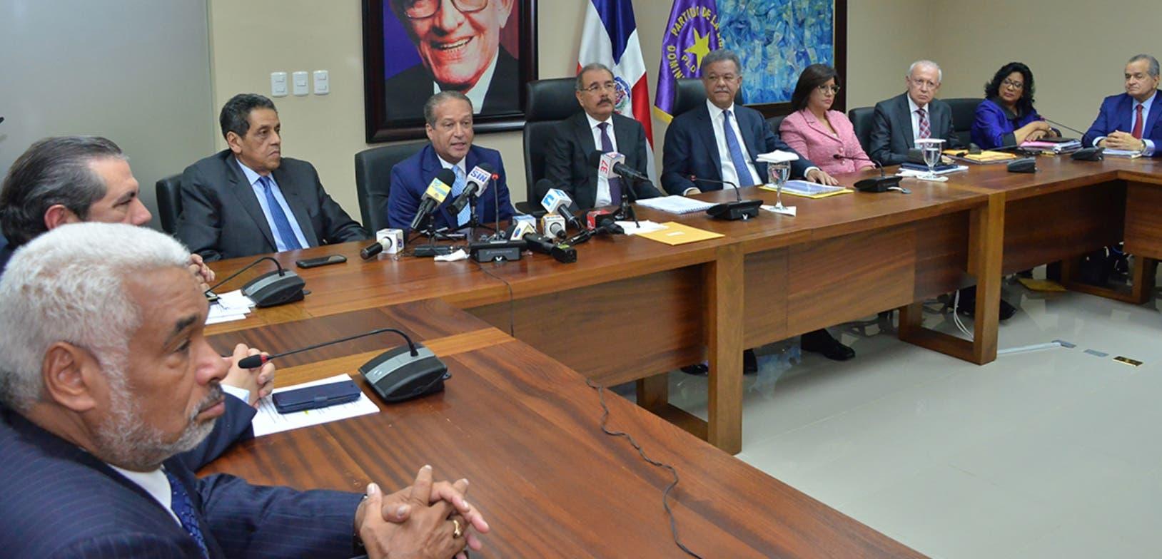 El Comité Político se reunió el pasado día seis de agosto, pero no ha establecido otra fecha para otro encuentro.  Archivo