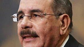 Danilo Medina, a quien está dedicada la Copa de Boxeo.