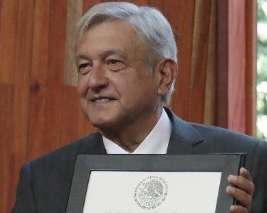 Andrés Manuel López Obrador. ya es el presidente electo.