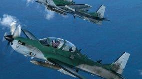 El país compró ocho aviones por US$92 millones.  archivo