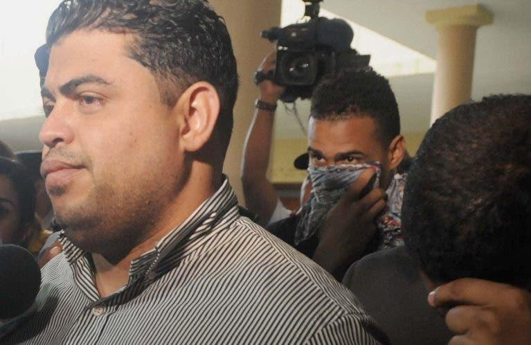 Juan Ángel Peña Taveras  trasladado al tribunal.