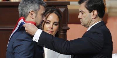 El presidente Mario Abdo Benítez inicia su mandato comprometido con imponer justicia.