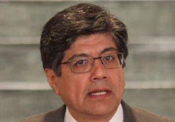 José Valencia, canciller de Ecuador y anfitrión.