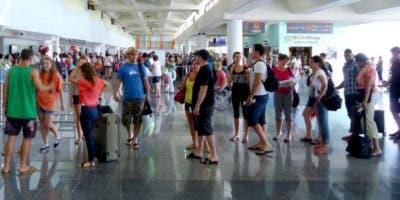 La mayoría de los extranjeros llegó al país por los aeropuertos.  fuente externa.