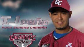 TJ Peña dejó las Águilas para irse a los Gigantes del Cibao.