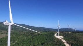 Planta de generación eólica Larimar.  AGENCIA FOTO