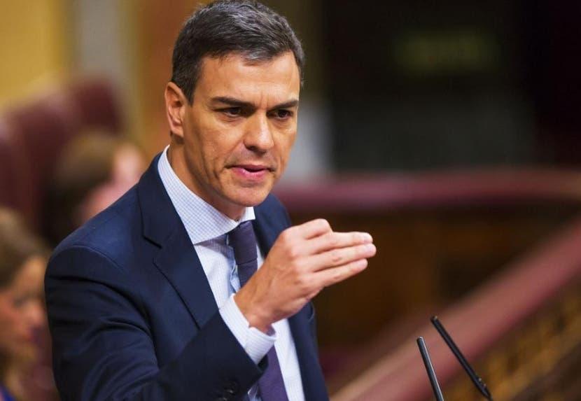 El gobierno de España, de Pedro Sánchez, envío un mensaje.