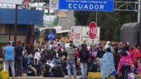 El gobierno de Ecuador decretó estado de emergencia humanitaria por oleada de  venezolanos.