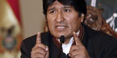 Evo Morales recibió este año la presidencia  de la Unasur.