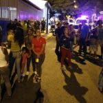 El fuerte sismo  interrumpió una concentración en apoyo al presidente Nicolás Maduro.