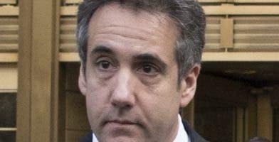 Michael Cohen podría recibir 4  o cinco años de prisión.