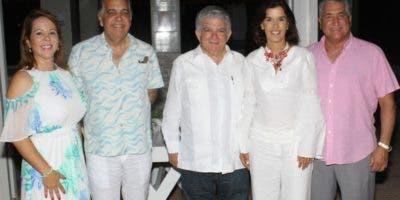 Angelina Cocco, Cuqui Silverio, Abraham Selman, Bernardita Abbot y  José Natalio Redondo.