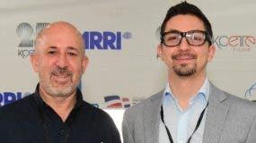 Rubén Abud, de Kcettes Pro, y Esteban Umana, de ARRI.
