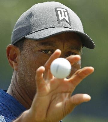 Tiger Woods listo para la competencia.