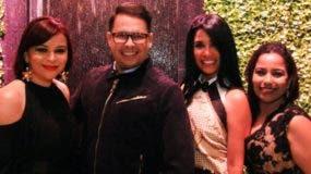 Melkis Díaz, Douglas Tapia, Morena Valley y Massiel Rosado.