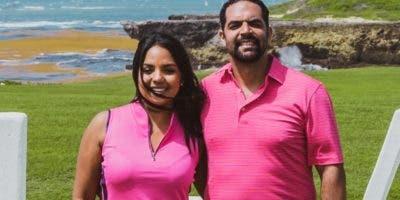 Franchesca Páez y Bernardo Then, propietarios de Golf View.