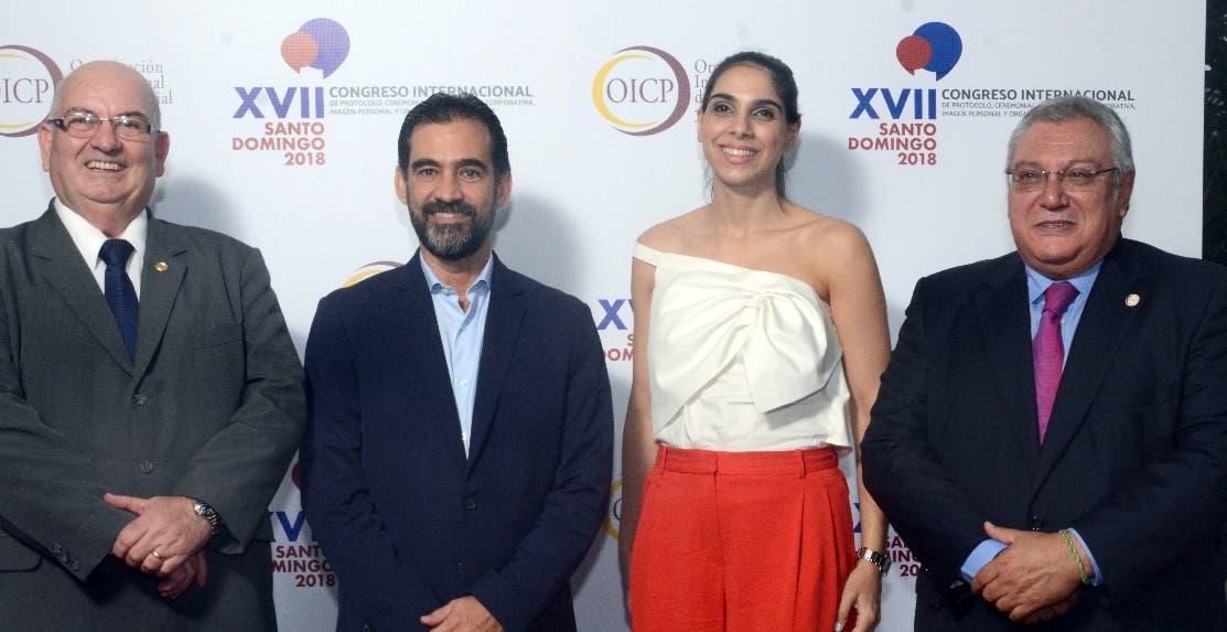 Herminio González, Jorge Urgal, Miriam Michelé y Gerardo Correa.