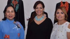 María Teresa de Catrain, Gisselle Mancebo y Anny Abate.