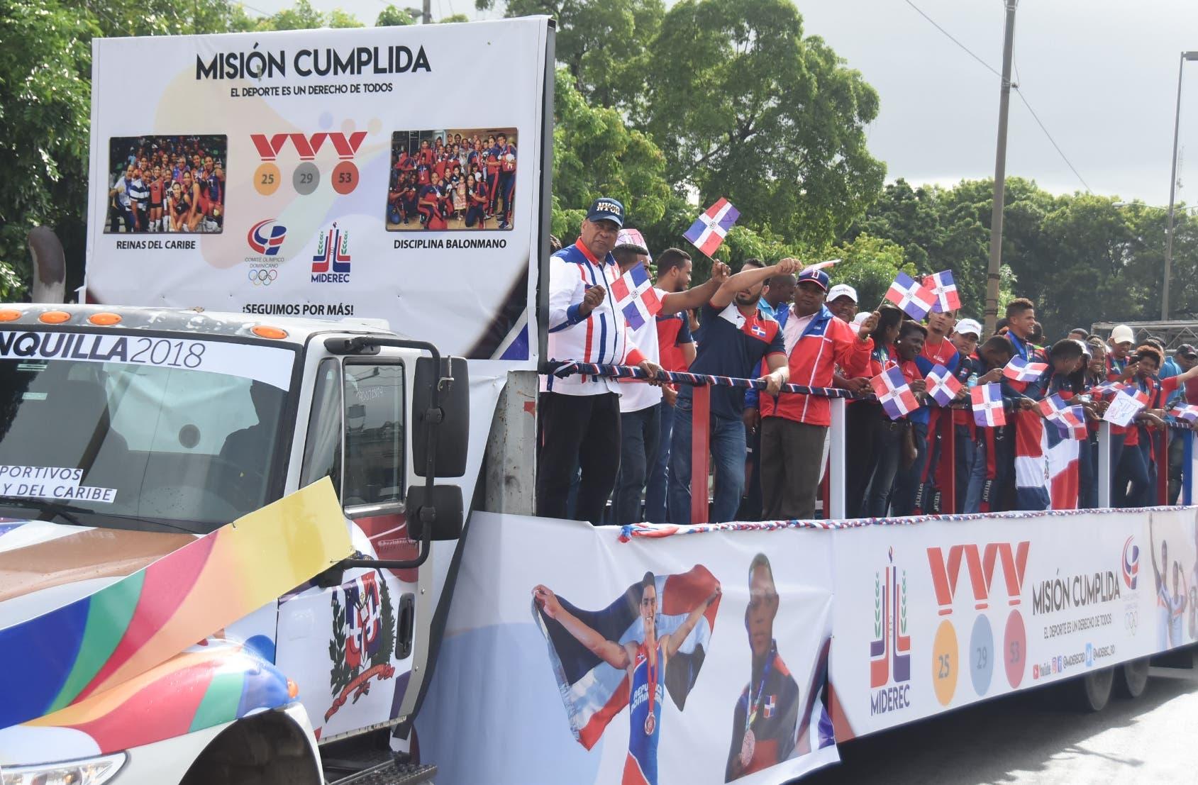 Los Deportistas disfrutaron de buen ambiente en barrios capitalinos