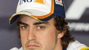 El piloto español Fernando Alonso está decepcionado.