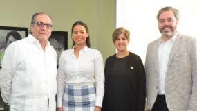 Miguel Escala, Estefanía George, Mariella Cantisano y Pablo Viñas.