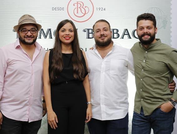 José Carlos Colón, Michelle Menéndez, Gary Evertsz y Jean Michel Zayas.