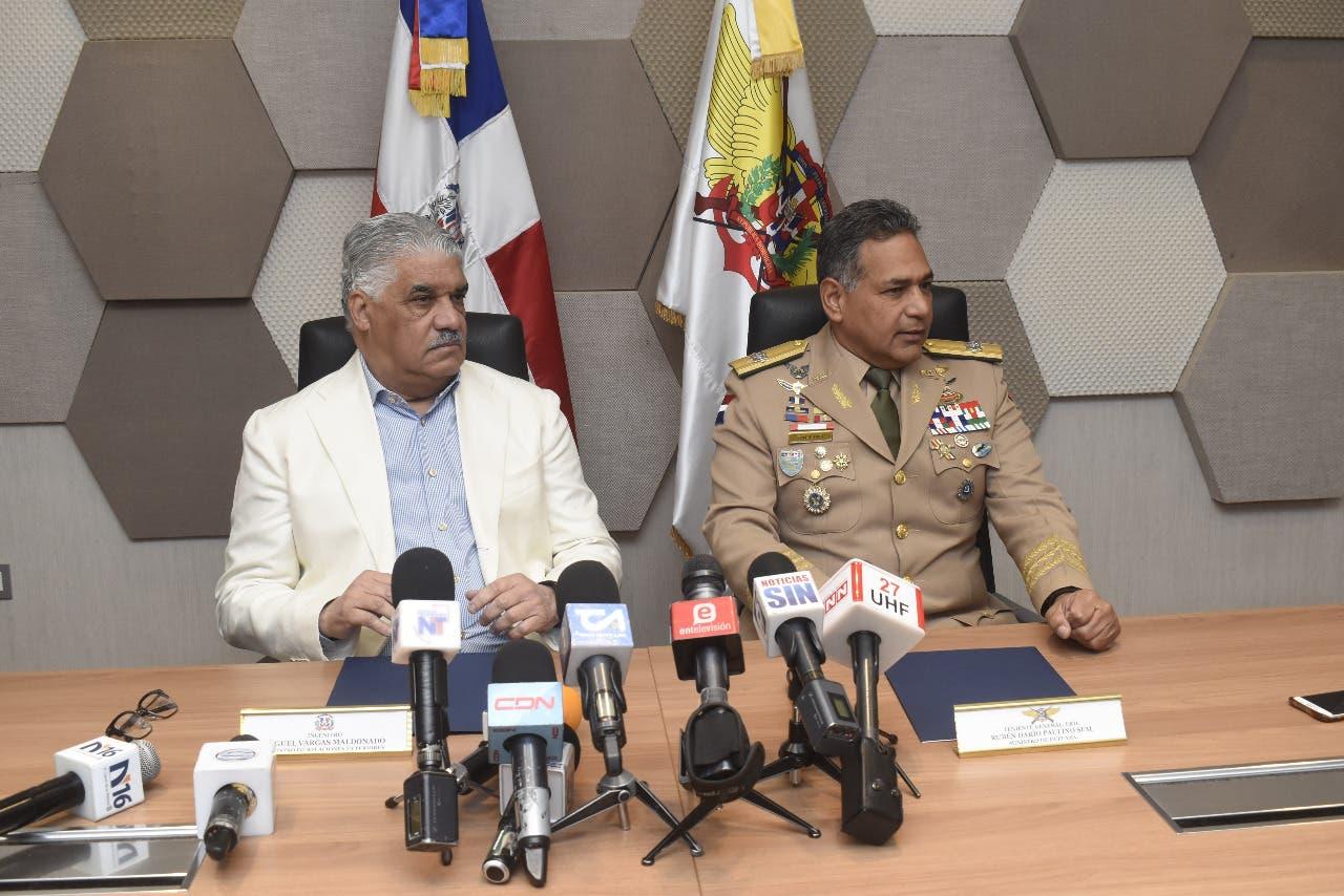 Canciller Miguel Vargas: «Rechazamos la versión de que se haya violado la soberanía haitiana»