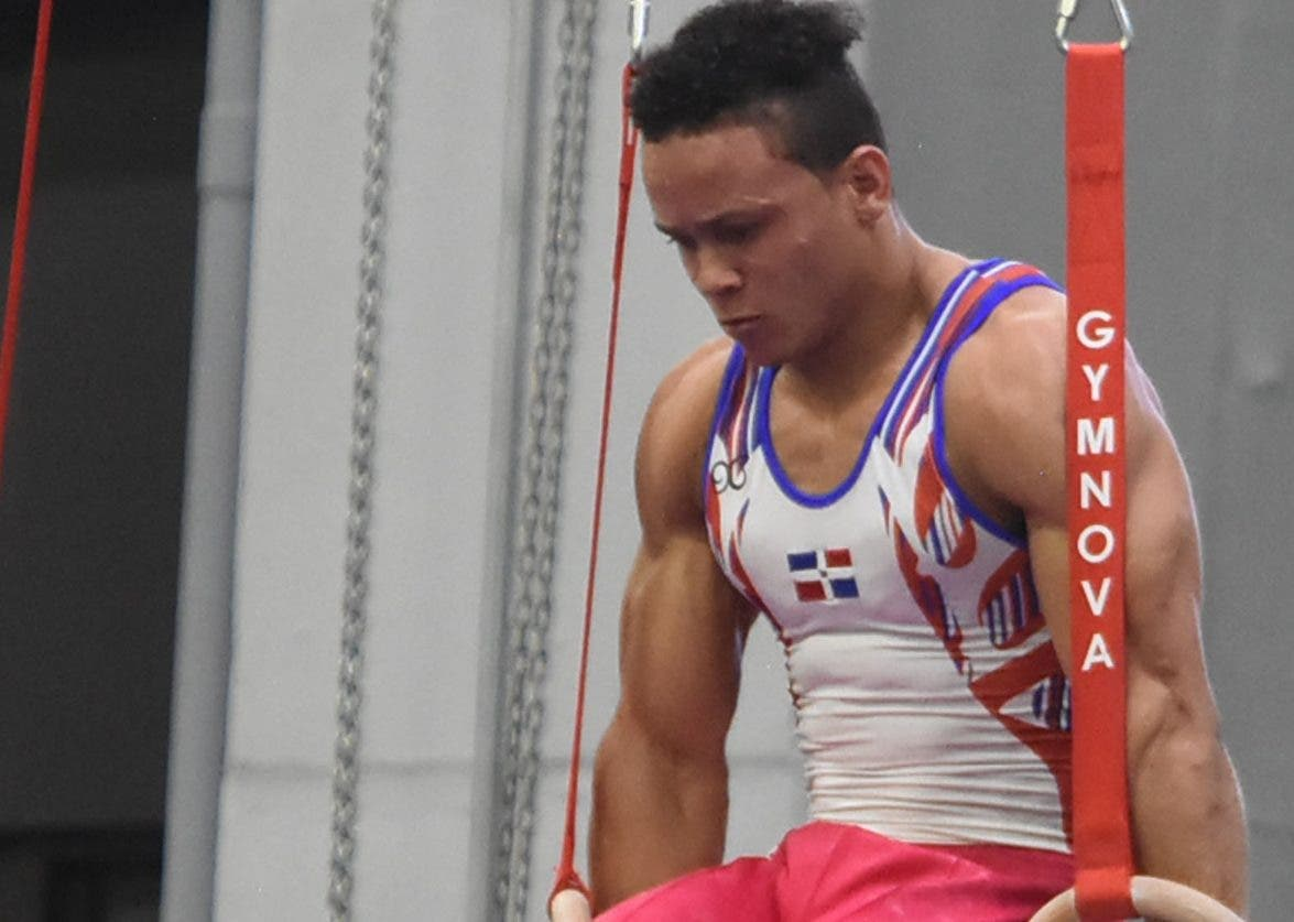 Audrys Nin Reyes, durante una competencia en Barranquilla.  Alberto Calvo