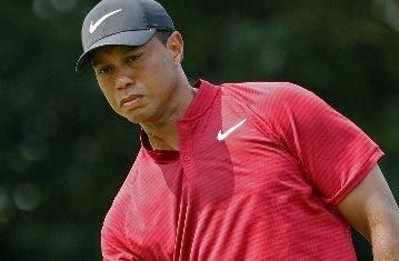 Tiger Woods realizó una gran jornada el domingo.